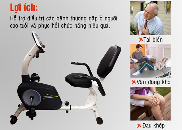 xe đạp phục hồi chức năng BC-66013 lợi ích