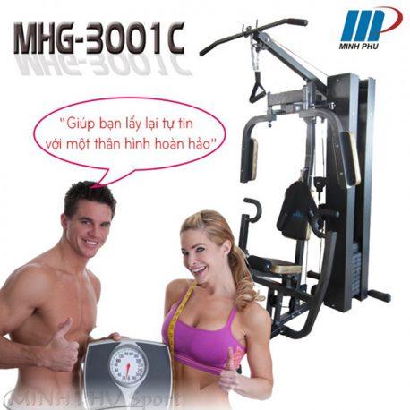 giàn tạ đa năng MHG-3001C