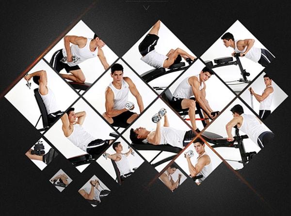 Ghế tập gym đa năng KK-021D