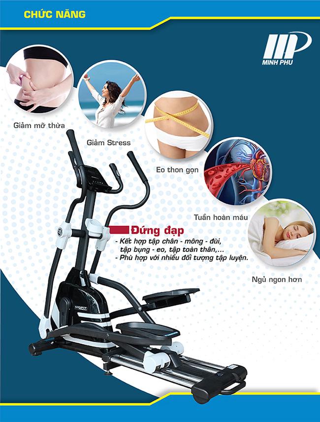Xe đạp tập thể dục PRO800