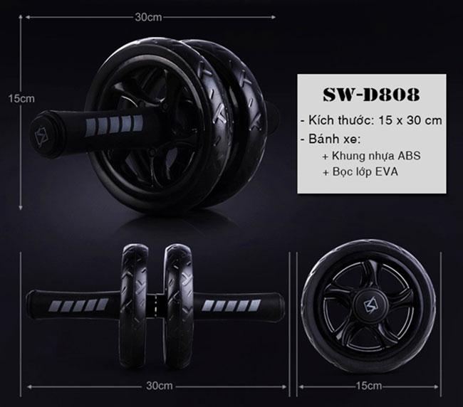 con lăn tập cơ bụng SW-D808