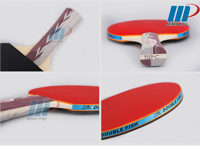 vợt bóng bàn Double Fish 5DC