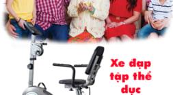 kinh nghiệm mua xe đạp tập thể dục cho người già