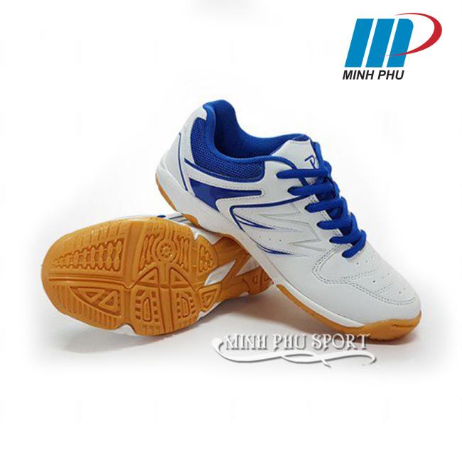 Giày cầu lông Promax PR-17009 màu trắng xanh