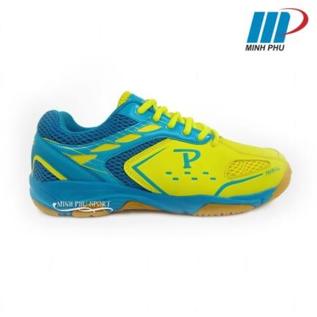Giày cầu lông Promax PR-18018 màu vàng xanh