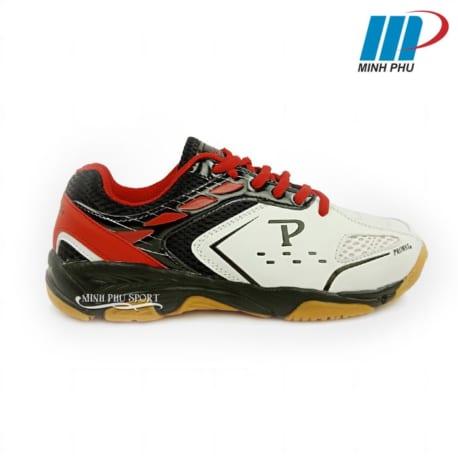 Giày cầu lông Promax PR-18018 màu trắng đỏ