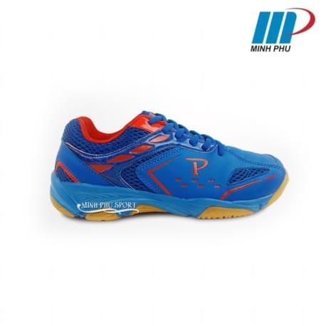 Giày cầu lông Promax PR-18018 màu xanh phối đỏ