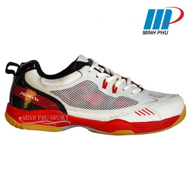 Giày cầu lông Promax PRF-02 màu trắng đỏ
