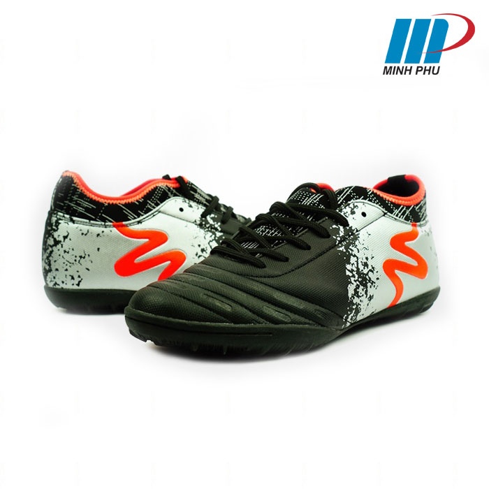 Giày đá bóng Mitre MT-160804 màu đen bạc