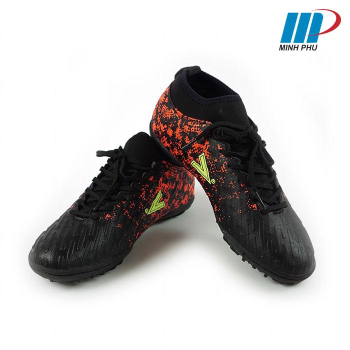 Giày bóng đá Mitre MT-170501 màu đen cam