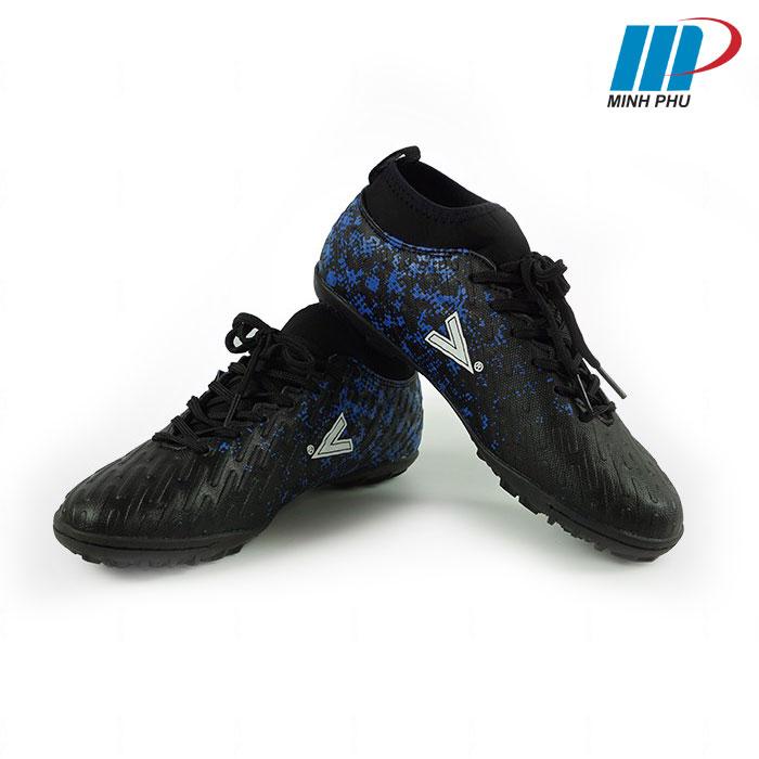 Giày bóng đá Mitre MT-170501 màu đen xanh
